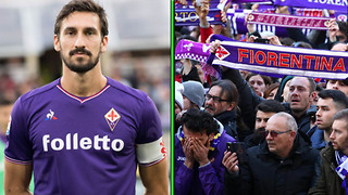 Fiorentina Fans Give Emotional Goodbye to Captain Davide Astori After Sudden Passing - Video