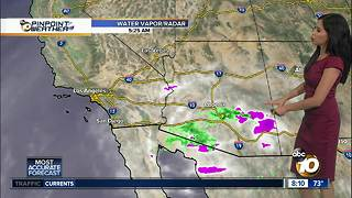 10News Pinpoint Weather for Sun. July 29, 2018 - Video