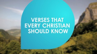 Verses that every Christian should know