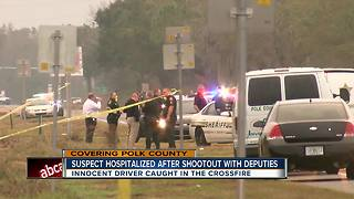 Police chase ends with deputy-involved shooting