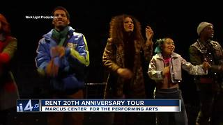 'Rent' at the Marcus Center - Video
