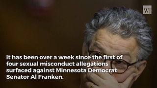 Al Franken Reveals Newest Excuse for Groping Allegations