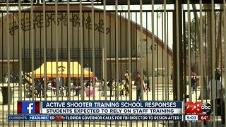 Active shooter training school responses - Video