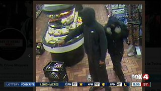 Two men wanted in armed robbery at Fort Myers 7-Eleven