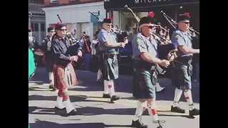 Charlestown, South Carolina, Celebrates St. Patrick's Day in Stlye - Video