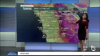 ABC 10News Pinpoint Weather for Sat Feb. 20, 2021