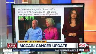 John McCain Brain Cancer Update - Video