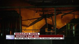 Three injured after explosion, HAZMAT situation at Detroit titanium plant