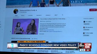 Pasco County school district considers cracking down on video recording