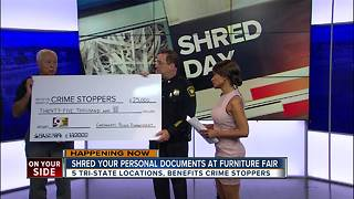 Cincinnati Police Department donates $25,000 to Crime Stoppers of Greater Cincinnati and Northern Kentucky - Video