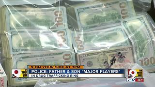 PD: Father, son 'major players' in drug trade - Video