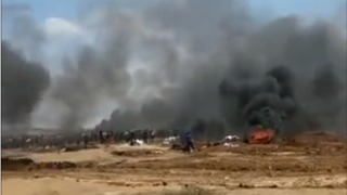 Fatalities Reported as Thousands Protest at Gaza Border Ahead of US Embassy Opening in Jerusalem
