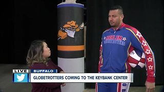 Harlem Globetrotters coming to Keybank Center - Video