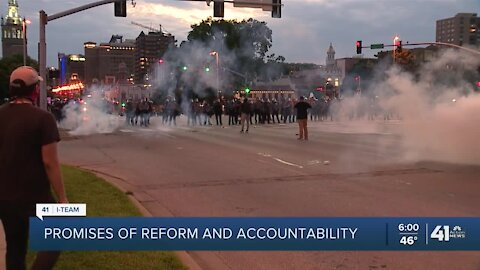 KCPD unveils new protest policy amid calls for police reform
