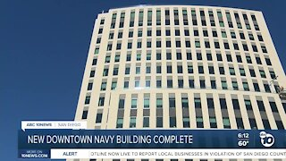 New oceanfront Navy headquarters complete in San Diego