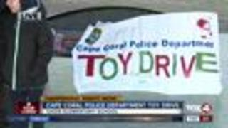 Cape Coral Police holding toy drive Wednesday - Video