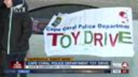 Cape Coral Police holding toy drive Wednesday