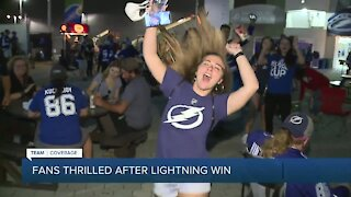 Fans thrilled after Bolts survive in Game 2