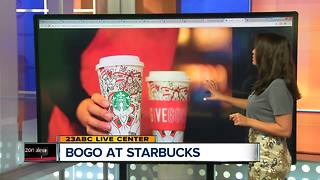 BOGO Deal for Starbucks Holiday Drinks - Video