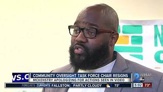 Chair of Baltimore Oversight Task Force resigns, apologizes after viral police body-cam video - Video