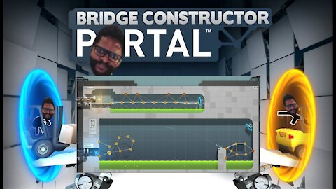 Bridge Constructor Portal: Levels 11-13