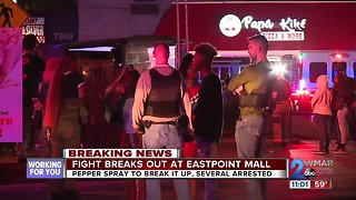Several teens arrested after fight breaks out at Eastpoint Mall in Dundalk