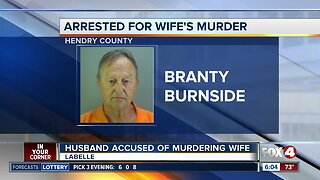 Husband charged with the death of wife in LaBelle