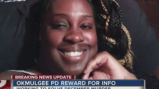 Okmulgee Police offering reward for Kimberly Anderson murder