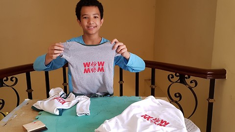 Easy DIY Tshirt Printing Even Teens Can Do