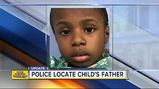 Police locate child's father after boy found wandering around St. Pete - Video