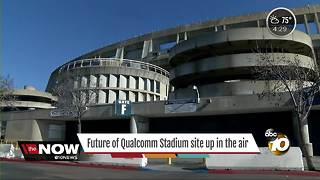 Future of Qualcomm Stadium site up in the air