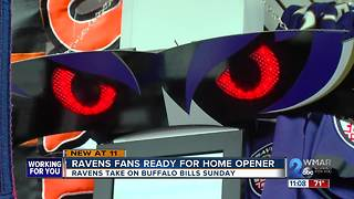 Ravens fans ready for home season opener