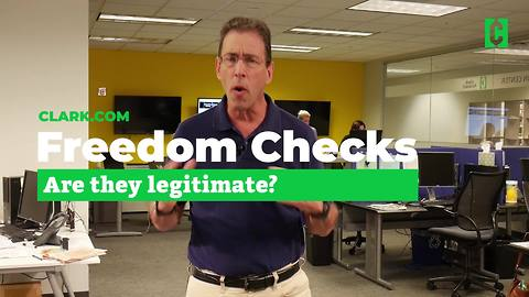 What are freedom checks?
