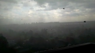 Moscow Battered By Deadly Storm - Video
