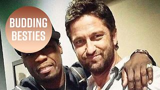 Gerard Butler & 50 Cent got a bromance going - Video