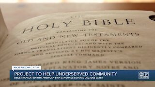 Inside the massive effort to translate the Bible into American Sign Language
