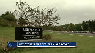 University of Wisconsin regents approve merging campuses - Video