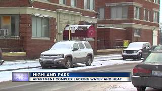 Residents at Highland Park apartment complex living without heat and water - Video