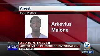 Arrest made in Fort Pierce homicide - Video