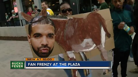 Fans pack Milwaukee's Deer District for Game 5 of Eastern Conference Finals