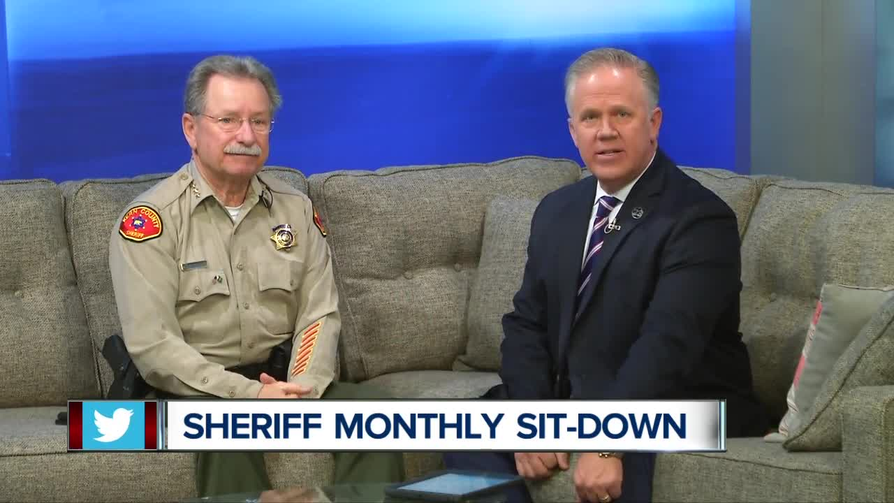 Sheriff Donny Youngblood Monthly Sit-down