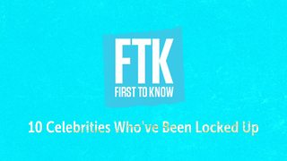 10 celebrities who've been locked up - Video