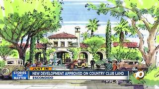New development approved on Country Club land - Video