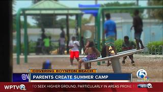 Boynton Beach community starts free summer camp - Video