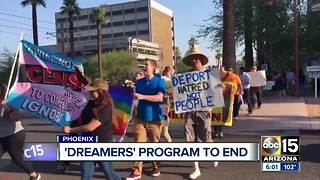 Valley Dreamer now US citizen responds to President Trump's expected DACA ruling - Video