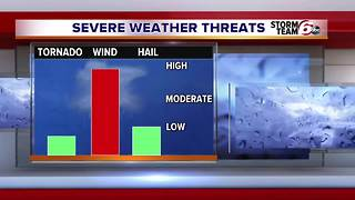 Severe Storm Potential - Video