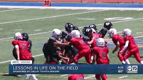 Helping Kids Go Places: Rebels Football