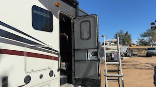Rv door fix