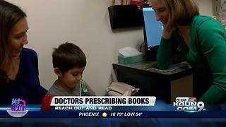 Doctors prescribing books to help kids - Video