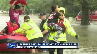 Waukesha deputies raising money for Harvey victims - Video